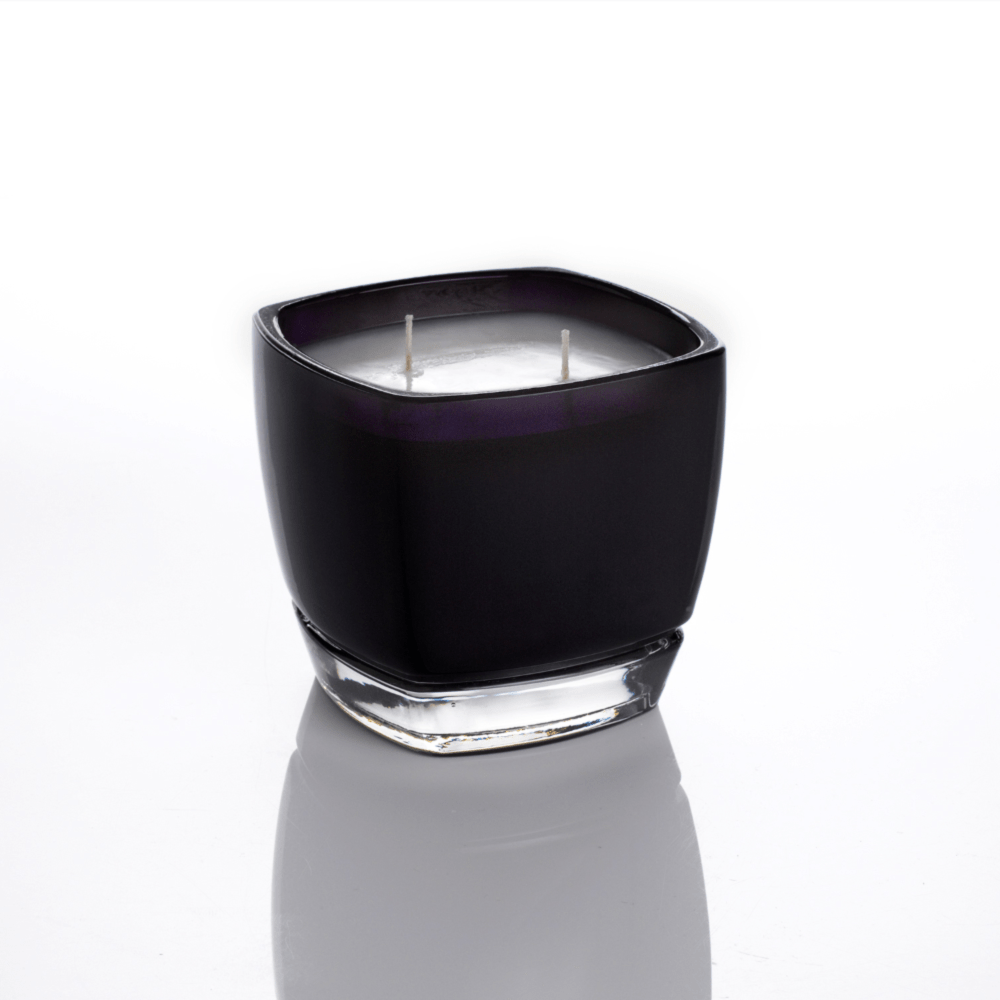 Jack Square Black Glass