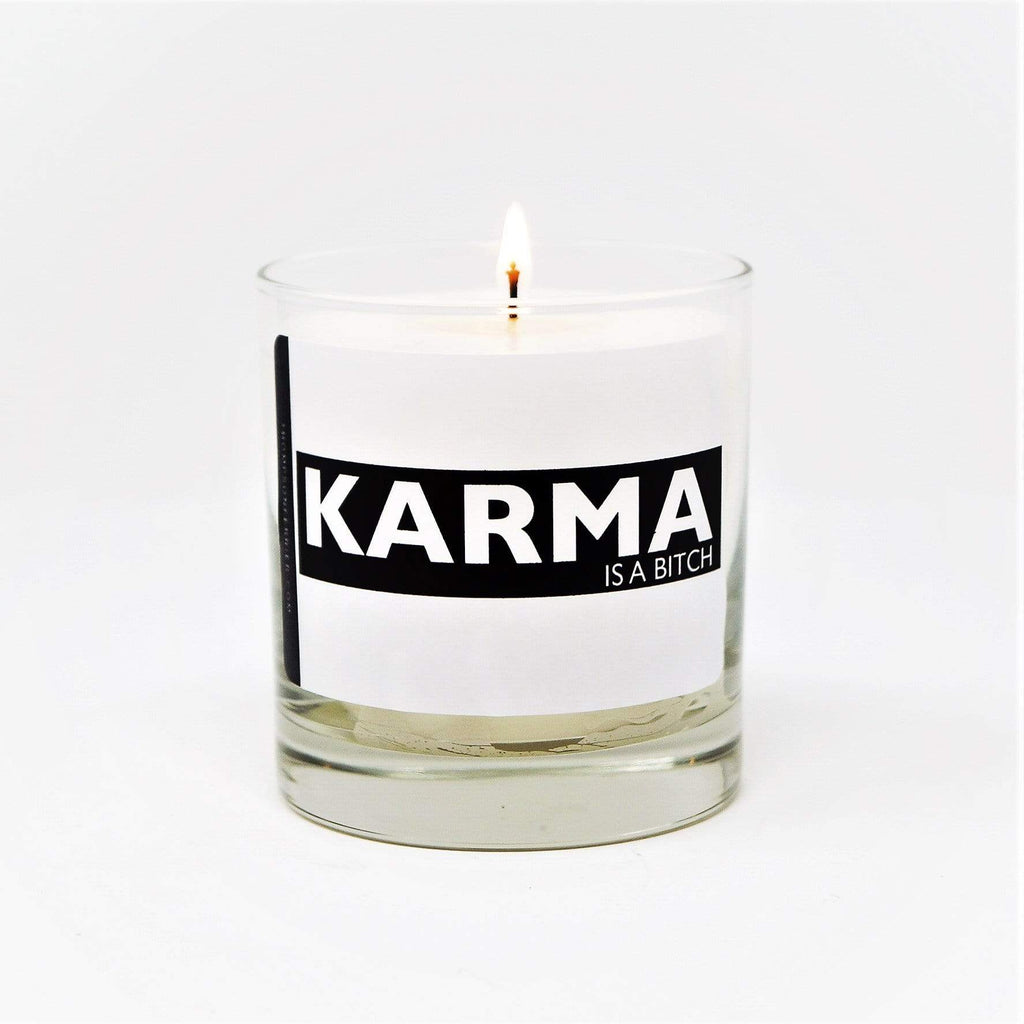 Thompson Ferrier Karma is a Bitch Candle