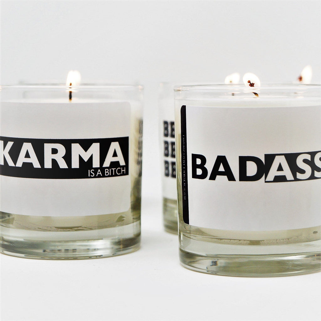 Decorative quotable scented candles - Thompson Ferrier