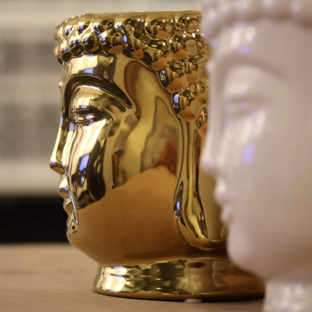 ceramic-gold-buddha-head-candle-with-3-cotton-wicks