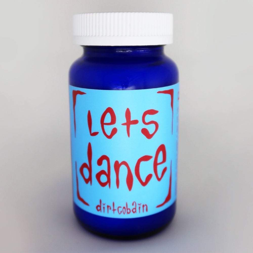 """Let's-Dance""-Pill-Bottle-Candle-By-Dirt-Cobain"