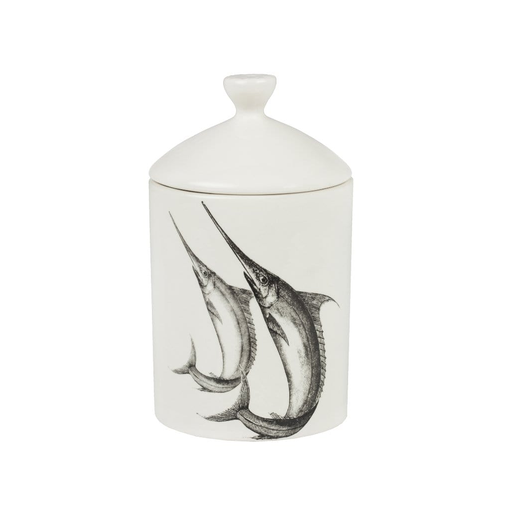 Marlin Sea Shells & Sand Lidded Candle - Thompson Ferrier