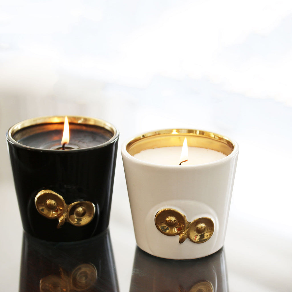 Thompson-Ferrier-Black-Owl-Candle