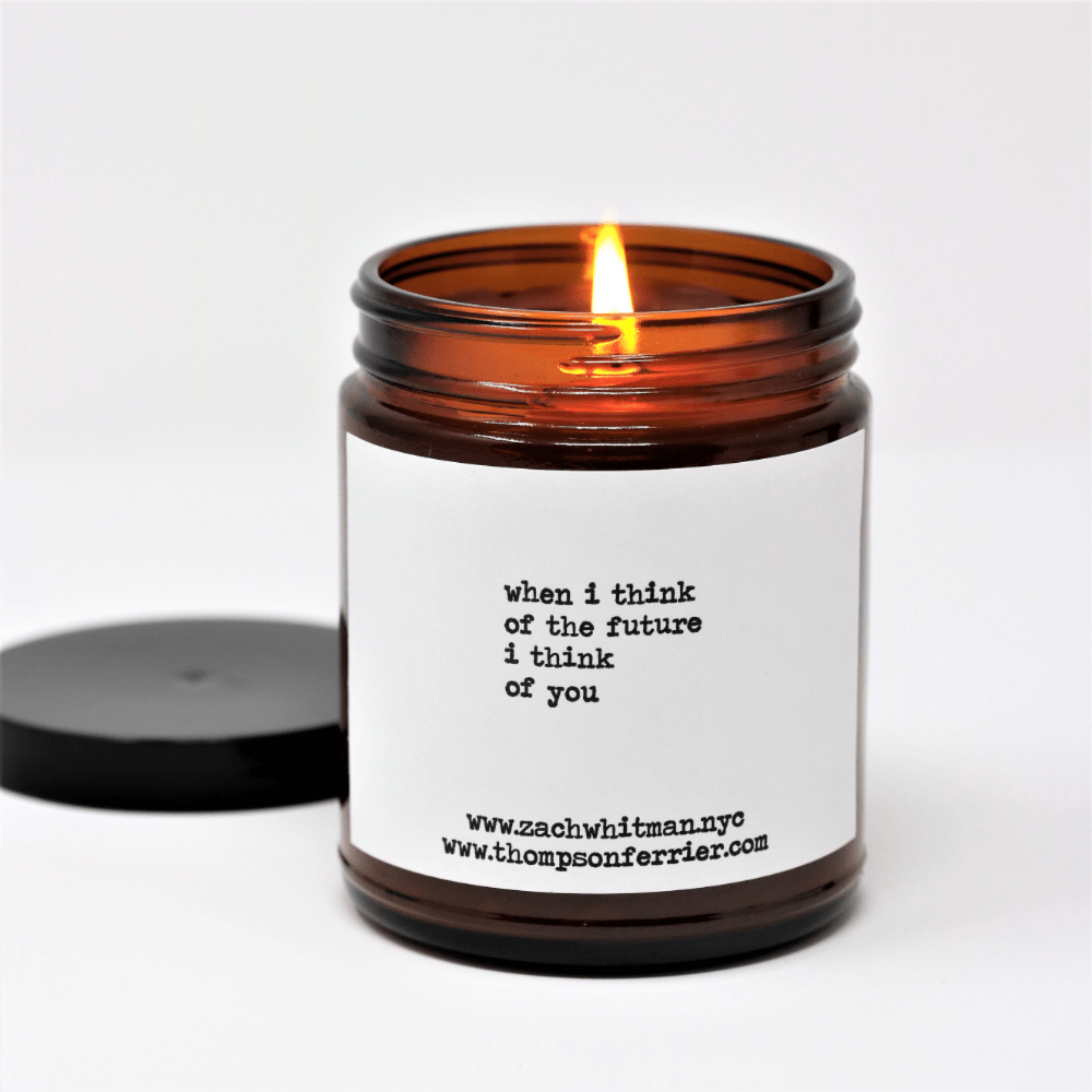 Zach Whitman's Future Poetry Scented Candle - Thompson Ferrier