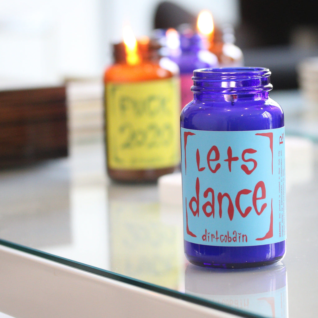 Thompson-Ferrier-Let's-Dance-Pill-Bottle-Candle