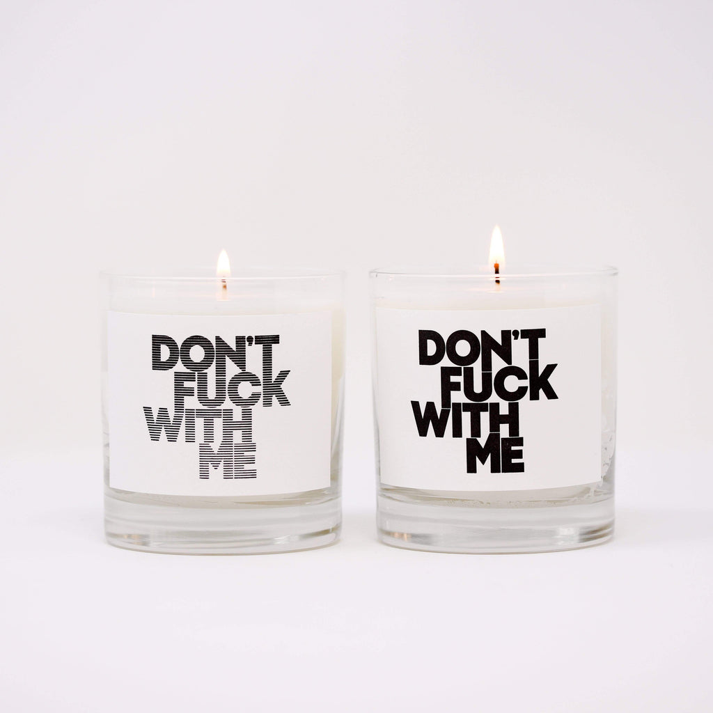 Thompson Ferrier has partnered with DON'T FUCK WITH ME, building the candle line with two distinct spiritual fragrances with the collaboration from Patricia Louisor-Brosset, Geraldine Aresteanu, Severine Charrier, Juliette Brody, @Maisonten, Tom Blackie, Henri Myers, & Carsten Klein.