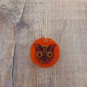 Owl Circle Pendant - Johanna Parker - Partners in Craft