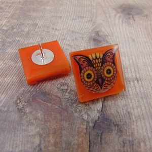 Owl Pin - Johanna Parker - Partners in Craft