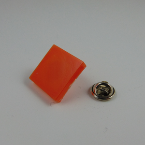 20mm Square Lapel Pin