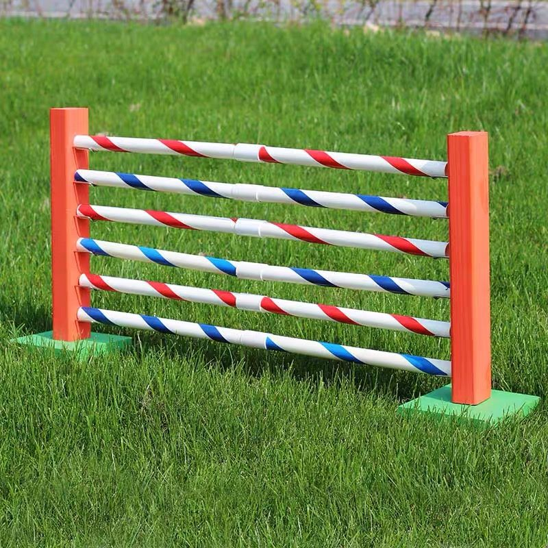 Bunny Hopping Hurdle or Small Dog Agility Jump