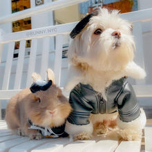 Load image into Gallery viewer, Handmade Cape for small animals, bunny cape, pet cape, puppy cape, bunny clothes, pet outfit, pet halloween costume, pet costume Pet Clothing cape, Headwear, Pet Clothing