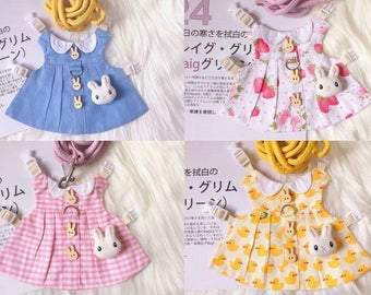Harness dress for bunny rabbit, harness for small dog,harness for teacup dog, harness for cat, bunny dress, cat dress, dog dress, cute dress Harness Harness