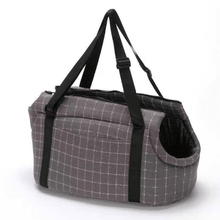 Load image into Gallery viewer, Pet carrier tote bag,  pet travel bag, travel carrier, lightweight carrier, cat carrier, dog carrier, bunny rabbit carrier Pet Carrier Carrier