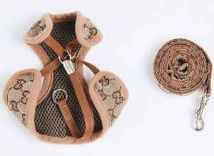 Pet harness, harness for pet bunny rabbit, small dog, cat, small pet harness, fashion harness Harness Harness