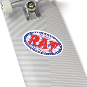 Rat Oval Sticker