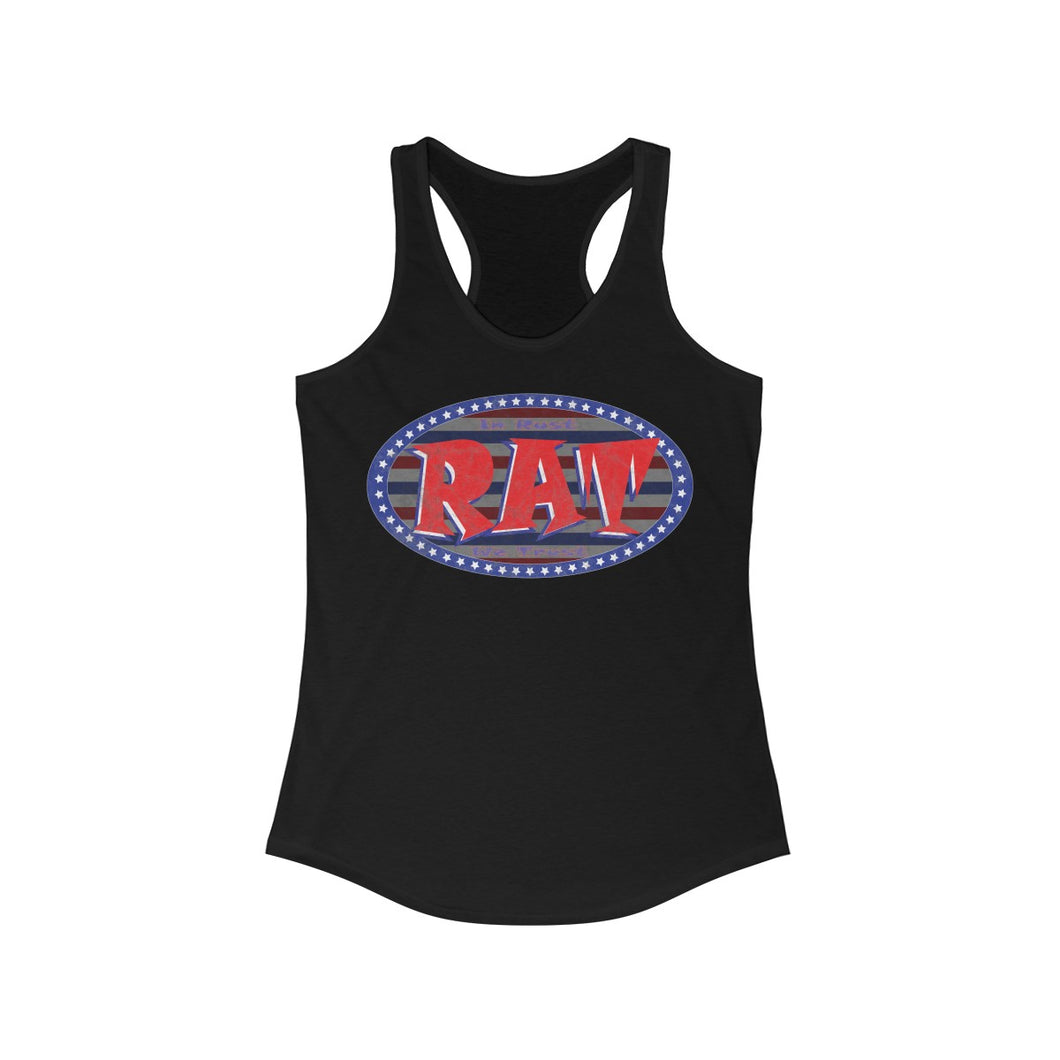 Patriotic Rat  Women's Tank Top