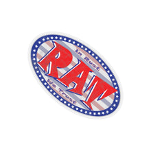Load image into Gallery viewer, Rat Oval Sticker
