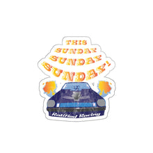 Load image into Gallery viewer, Sunday Sunday Vintage Drag Race Sticker
