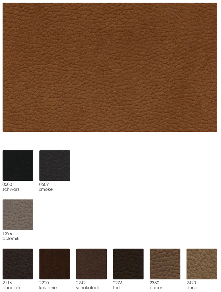 Nevada Seat Leather Samples
