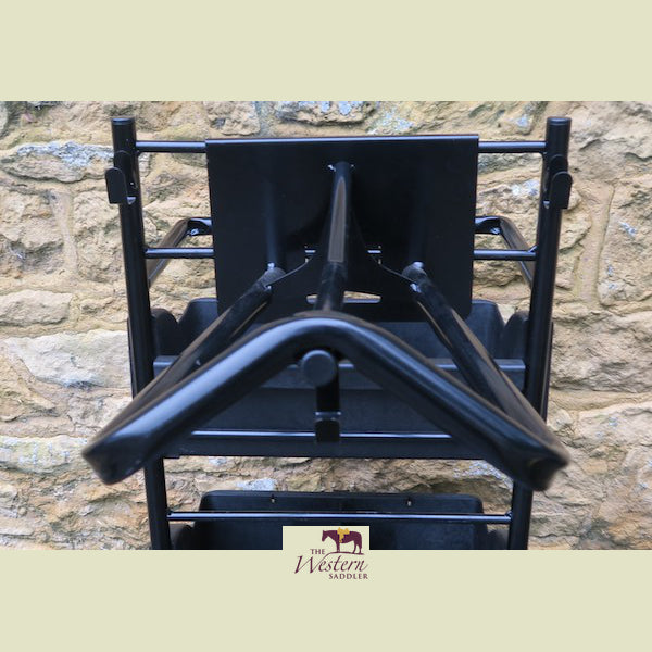 Stable & Barn - The Wide Saddle Rack for Large and Dressage Saddles