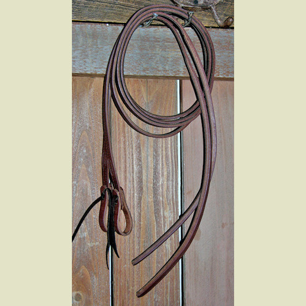Buckaroo Lined Ultimate Split Reins Weighted at Popper End