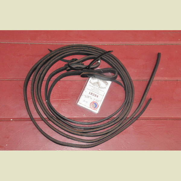 Buckaroo Black Harness Split Reins