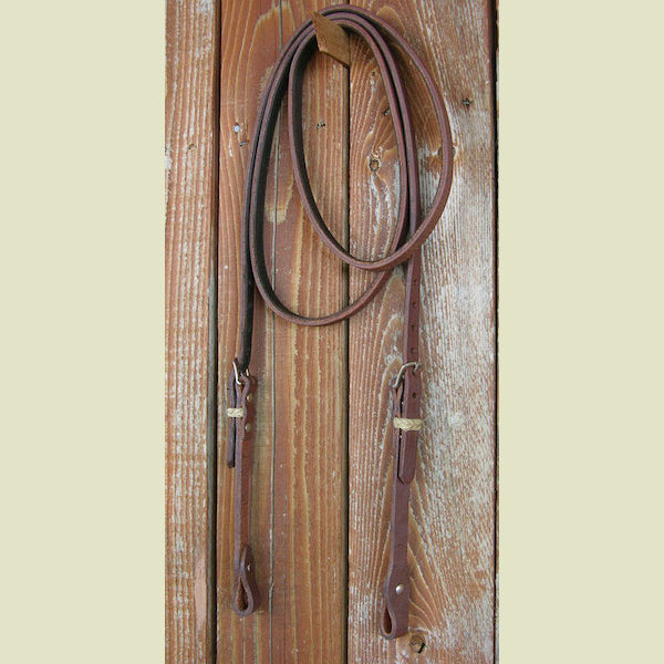 Buckaroo Lined Trail & Roping Loop Rein Extra Long