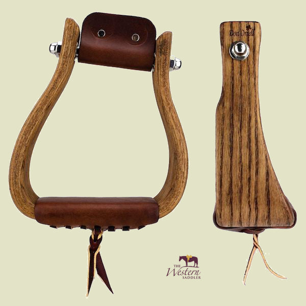 Don Orrell – Rancher Stirrups - Angled Offset