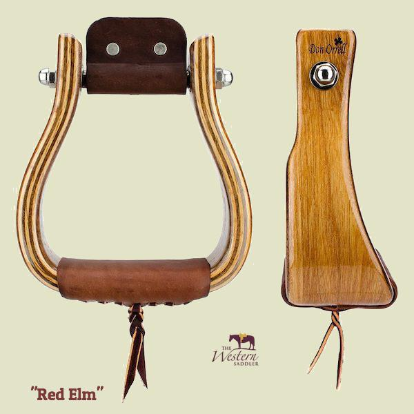 Don Orrell – Offset Stirrup - Red Elm
