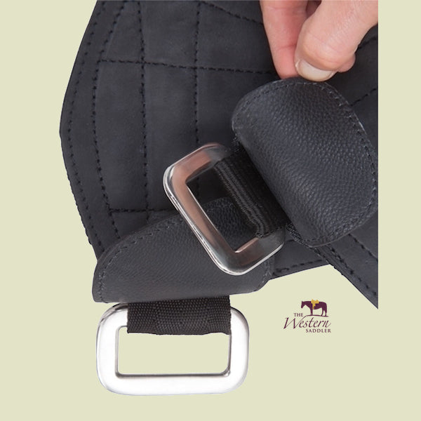 Barefoot® Stirrup Attachment - Velcro with Leather Cover