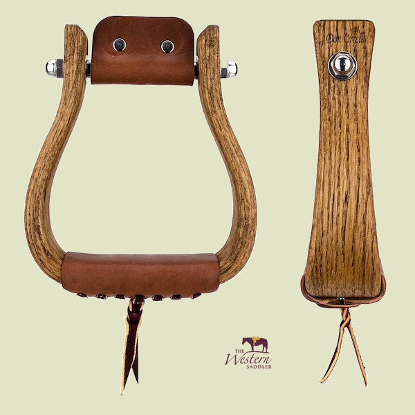 Don Orrell – Rancher Stirrups - Flat Bottom