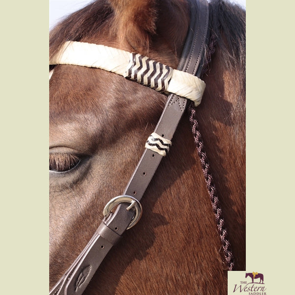 Barefoot® 'Acorn' Bridle 2-in-1 with Genuine Rawhide