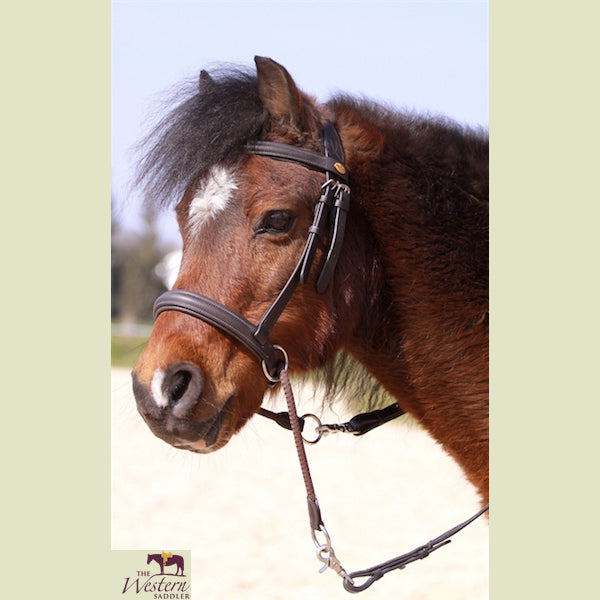 Barefoot® Walnut Bitless Bridle Pony