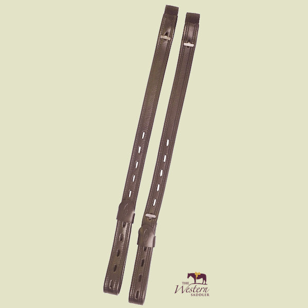Barefoot® Brown Dressage Stirrup Leathers 'Mono'