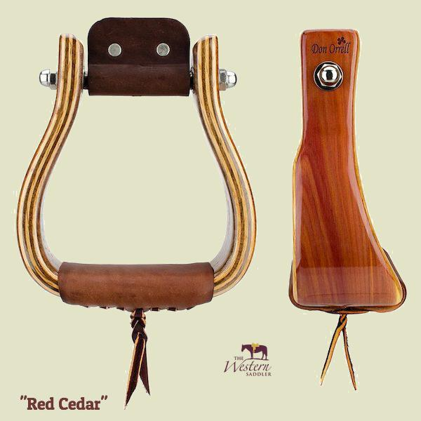 Don Orrell – Offset Stirrup - Red Cedar