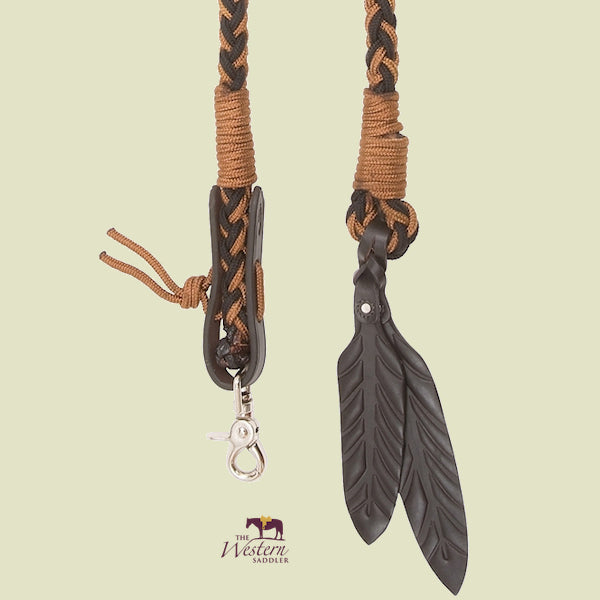 Barefoot® Amber Split Reins with Removable Snap Hooks