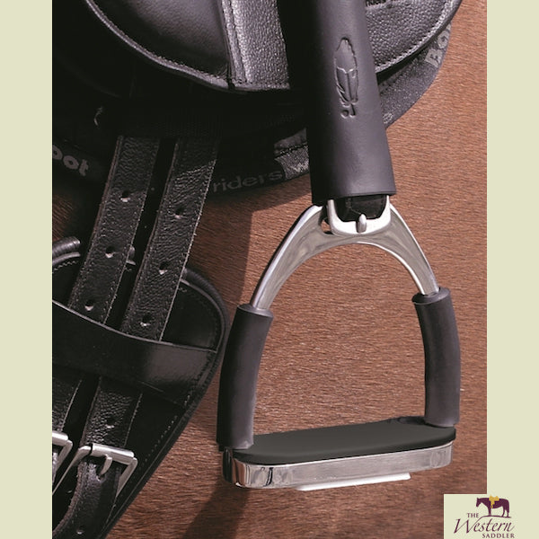 Barefoot® Stainless Steel Safety Stirrup with Hinges