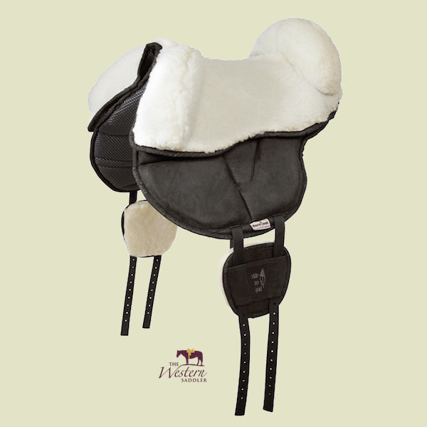 Barefoot® Sheep Wool Bareback Seat with Blocks
