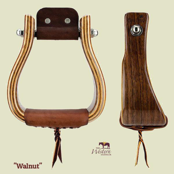 Don Orrell – Offset Stirrup - Walnut