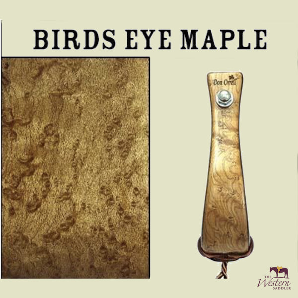 Don Orrell – Offset Stirrup - Colour of Birds Eye Maple