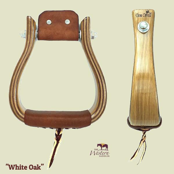 Don Orrell – Offset Stirrup - White Oak