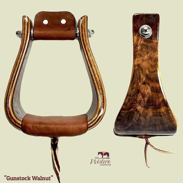 Don Orrell – Buckaroo Stirrup - Gunstock Walnut