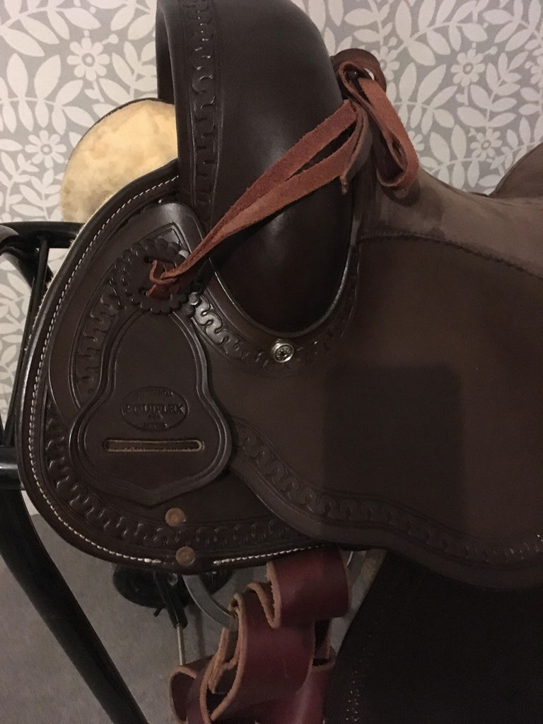 As New, Equiflex Endurance Little Snake Dance Saddle #181