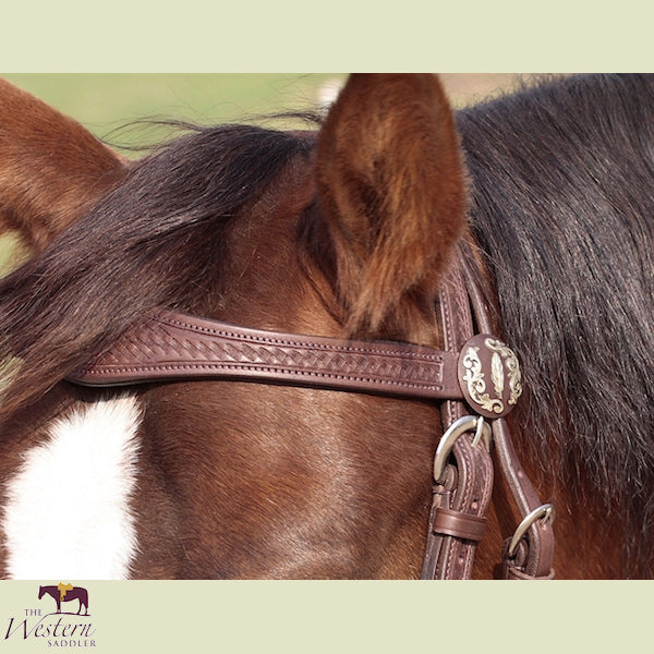 Barefoot Missoula Nut Headstall