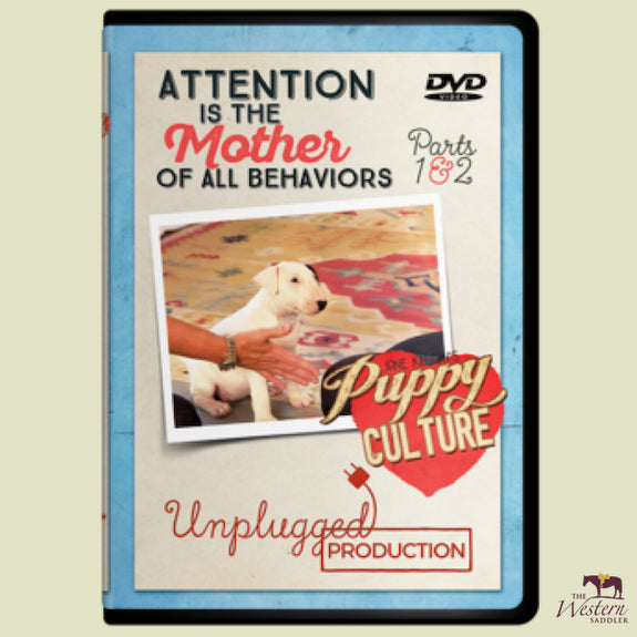 Puppy Culture - Attention is the Mother of All Behaviours DVD
