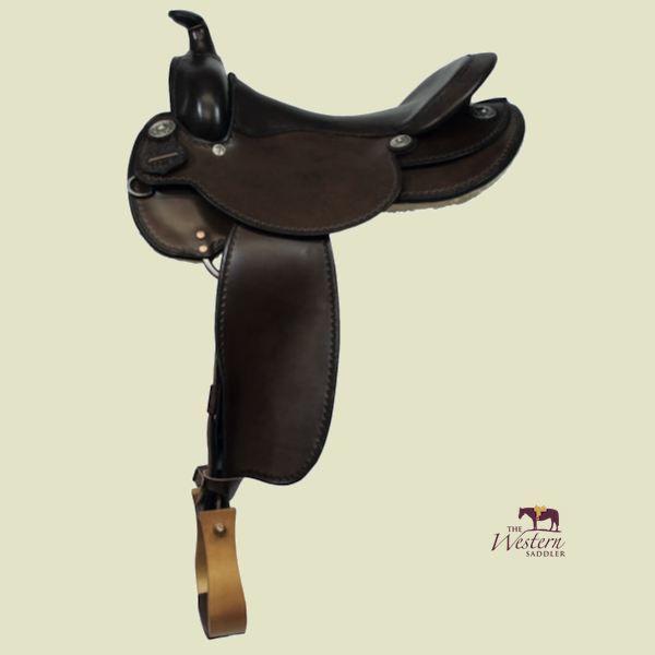 TWS Custom Western Saddle with Basic Tree