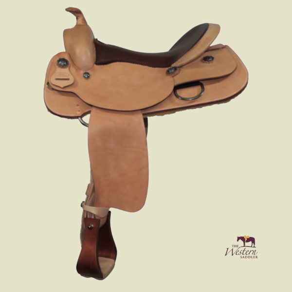 TWS Custom Reining Saddle with Basic Tree