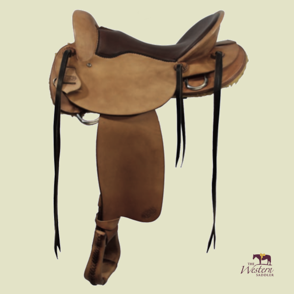 TWS Custom Endurance Saddle with Basic 3D Equiscan Wooden Tree