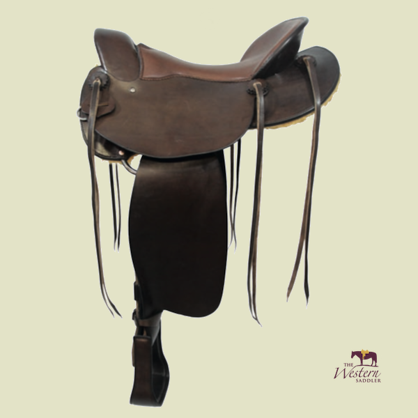 TWS Custom Endurance Saddle with Basic Tree