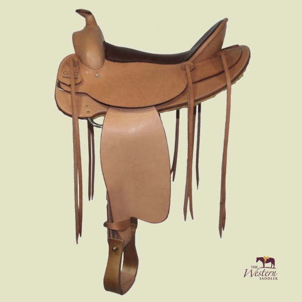 Top Saddlemaker Western Saddle with Basic Tree